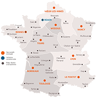 Carte implantations EpiSaveurs 2018