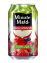 Jus de fruits rouges en canette 33 cl MINUTE MAID - 0137077 - EpiSaveurs - Grossiste alimentaire