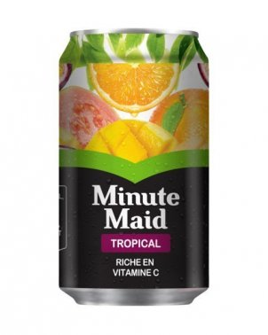 Nectar de fruits tropicaux en canette 33 cl MINUTE MAID - 0062130 - EpiSaveurs - Grossiste alimentaire