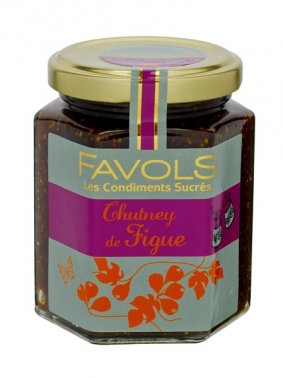 Chutney de figue en bocal 220 g FAVOLS - 0068182 - EpiSaveurs - Grossiste alimentaire