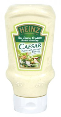 Sauce salade Caesar Top Down en flacon souple 400 ml HEINZ - 0133499 - EpiSaveurs - Grossiste alimentaire