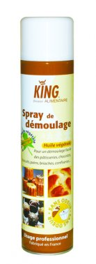 Spray de demoulage en aerosol 600 ml KING - 0156658 - EpiSaveurs - Grossiste alimentaire
